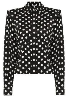 Dolce & Gabbana Paddy pussy-bow polka-dot blouse