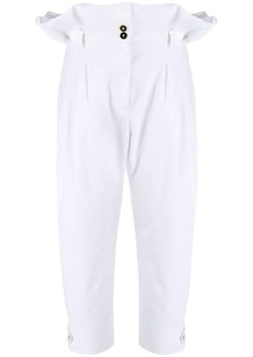 Dolce & Gabbana paper-bag tailored trousers