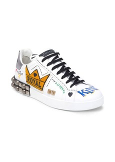 Dolce & Gabbana Patch Crown Sneakers