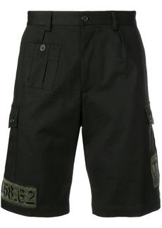 Dolce & Gabbana patch detail shorts