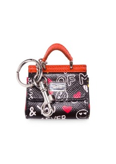 Dolce & Gabbana Patch Key Ring
