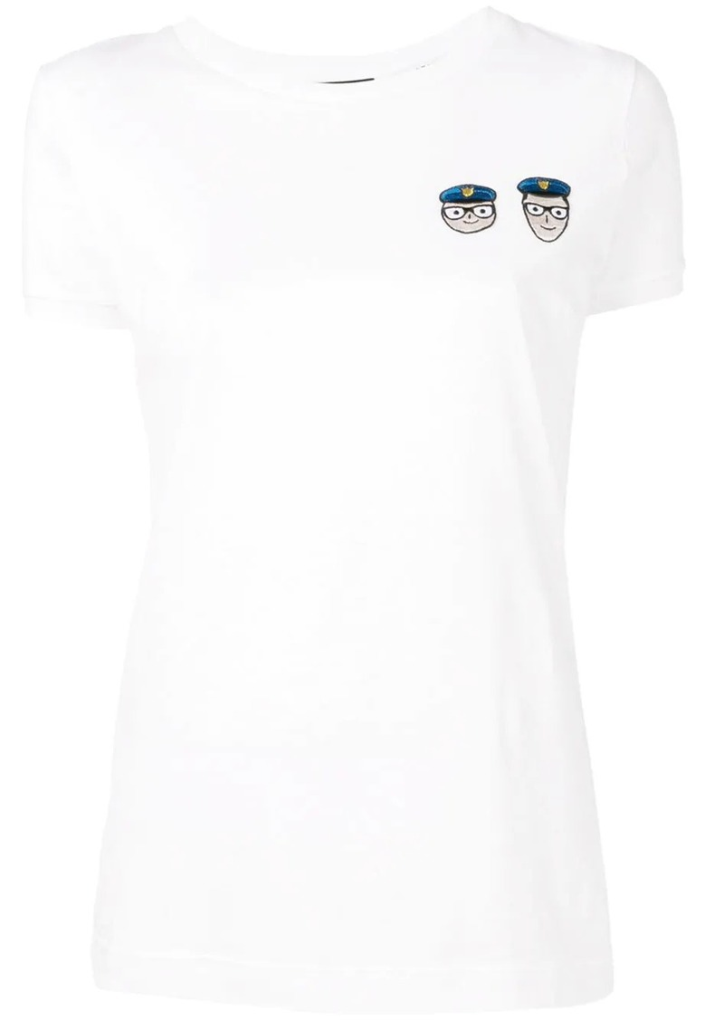 Dolce & Gabbana patch T-shirt