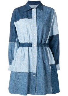 Dolce & Gabbana patchwork denim dress