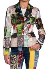 Dolce & Gabbana Patchwork Short Blazer