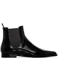 Dolce & Gabbana patent Chelsea boots