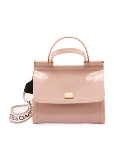 Dolce & Gabbana Patent Top Handle Bag