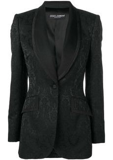 Dolce & Gabbana patterned blazer