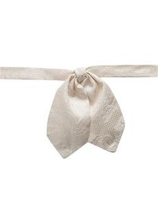 Dolce & Gabbana patterned-jacquard bow tie