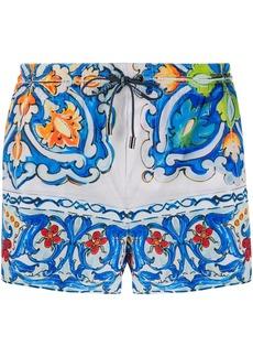 Dolce & Gabbana patterned swim shorts