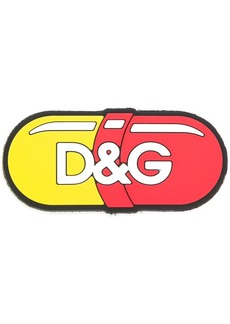 Dolce & Gabbana pill shaped logo patch