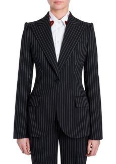 Dolce & Gabbana Pinstripe Wool Jacket