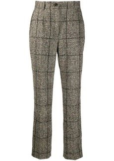 Dolce & Gabbana plaid-check tailored trousers