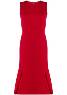 Dolce & Gabbana pleated hem dress