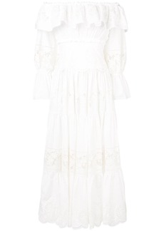 Dolce & Gabbana pleated maxi dress