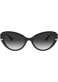 Dolce & Gabbana Plissé cat eye sunglasses