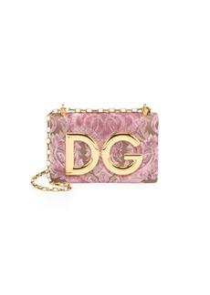 Dolce & Gabbana Pochette Convertible Logo Shoulder Bag