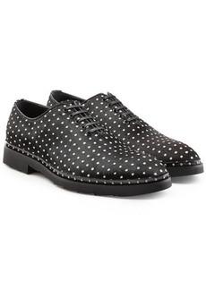 Dolce & Gabbana Polka Dot Calf Hair Loafers