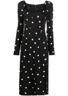 Dolce & Gabbana polka-dot print dress