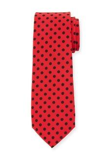 Dolce & Gabbana Polka-Dot Silk Tie