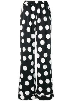 Dolce & Gabbana polka dot trousers