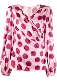 Dolce & Gabbana polka dots blouse