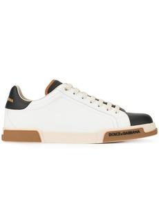 Dolce & Gabbana Portofino panelled sneakers