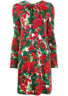 Dolce & Gabbana Portofino print dress