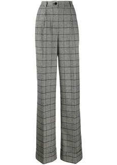 Dolce & Gabbana Prince of Wales check trousers