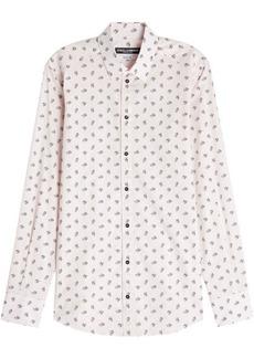 Dolce & Gabbana Printed Cotton Shirt