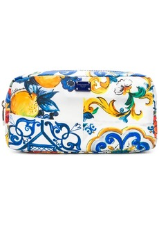 Dolce & Gabbana printed makeup bag