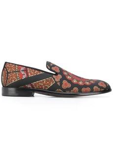 Dolce & Gabbana printed slippers