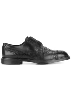 Dolce & Gabbana punch hole detail Derby shoes