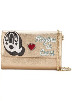 Dolce & Gabbana Queen of Hearts wallet shoulder bag