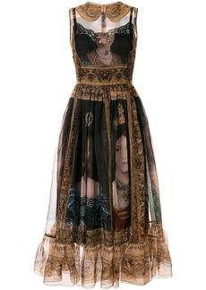 Dolce & Gabbana Queen-print dress
