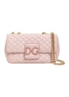 Dolce & Gabbana Quilted Leather Shoulder Bag