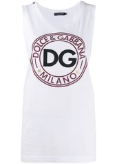 Dolce & Gabbana relaxed-fit logo tank top