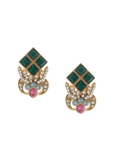 Dolce & Gabbana rhinestone-embellished earrings