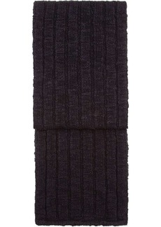 Dolce & Gabbana ribbed knitted scarf
