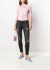Dolce & Gabbana ripped skinny jeans