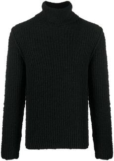 Dolce & Gabbana roll-neck virgin wool jumper
