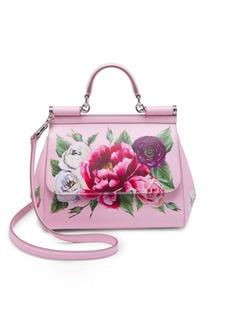 Dolce & Gabbana Roseto Dauphine Small Sicily Handbag