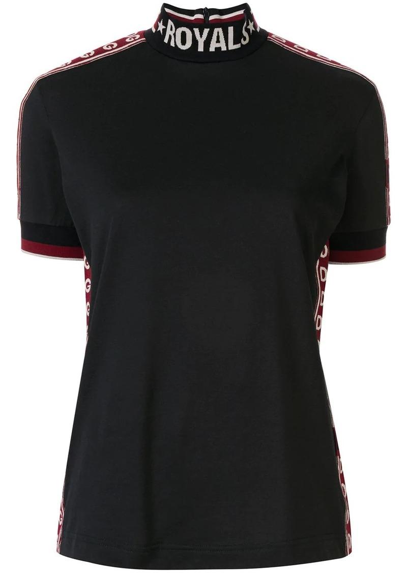 Dolce & Gabbana Royals embroidered shirt