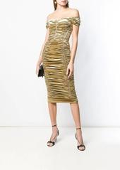 Dolce & Gabbana ruched midi dress