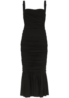 Dolce & Gabbana ruched midi dress