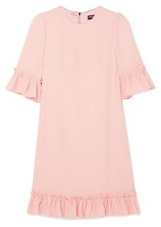 Dolce & Gabbana Ruffled Cady Mini Dress