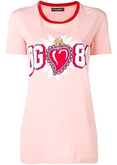 Dolce & Gabbana sacred heart logo T-shirt