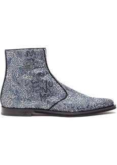 Dolce & Gabbana sequin-detail ankle-length boots