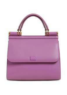 Dolce & Gabbana Sicily 58 Small Leather Top Handle Bag