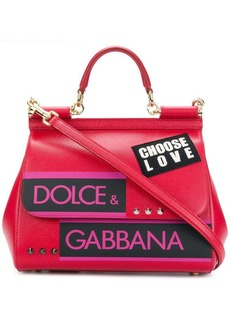 Dolce & Gabbana Sicily Choose Love tote