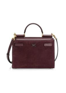 Dolce & Gabbana Sicily Leather Box Bag